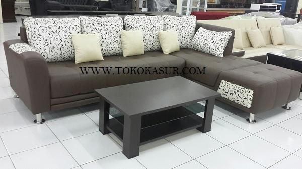 Kursi Tamu Sofa L Sudut Murah Minimalis
