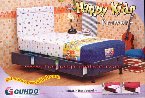 guhdo drawer, kasur laci, ranjang laci, guhdo happy kids drawer