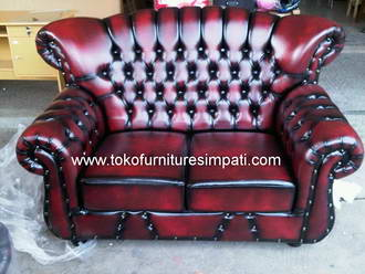 sofa fortuner, sofa klasik, chesterfield
