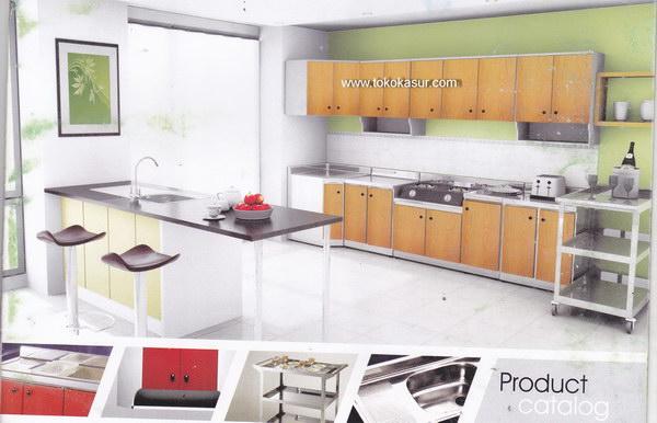 Kitchen Set Murah Harga Kitchen Set Lemari Dapur Lemari Gantung