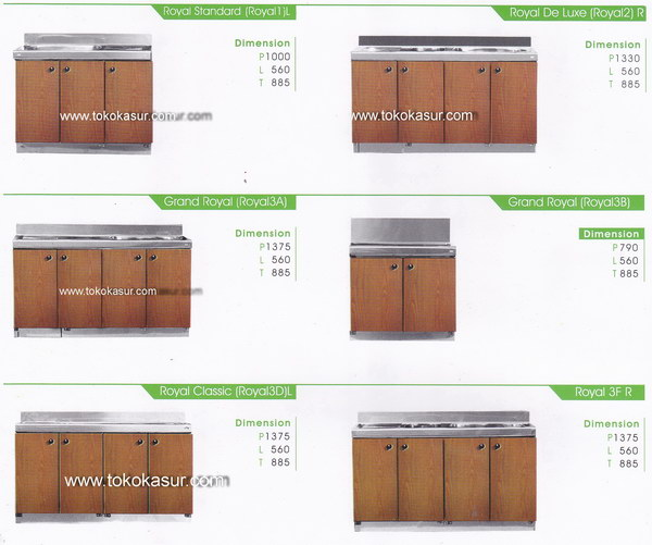 Kitchen set murah harga kitchen set lemari dapur for Ukuran rak piring kitchen set
