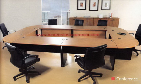meja rapat modera murah, meeting table murah