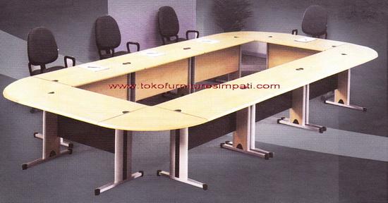 Meja Rapat Murah Meeting Table Meja Ruang Rapat Conference Toko Furniture Simpati