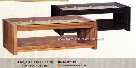 Meja Tamu Coffe Table Meja Sofa