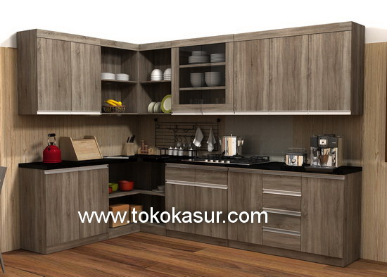 Kitchen Set Murah Harga Kitchen Set Lemari Dapur Lemari Gantung
